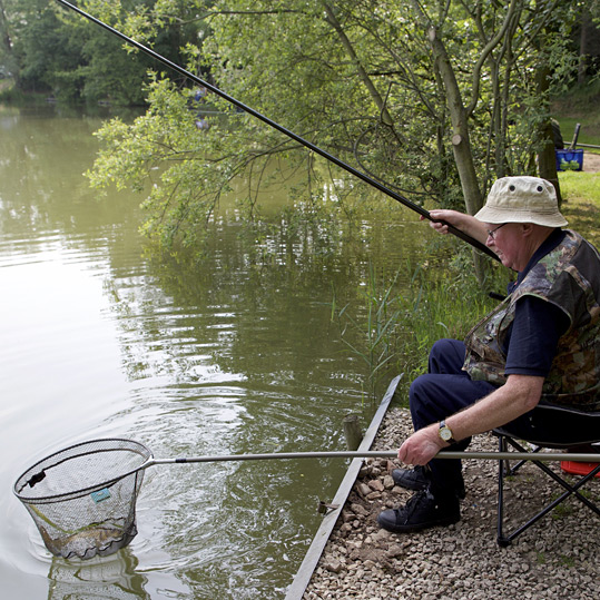 bank end fisheries fishing gear